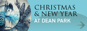 Celebrate Christmas and New Year at the Dean Park Hotel!