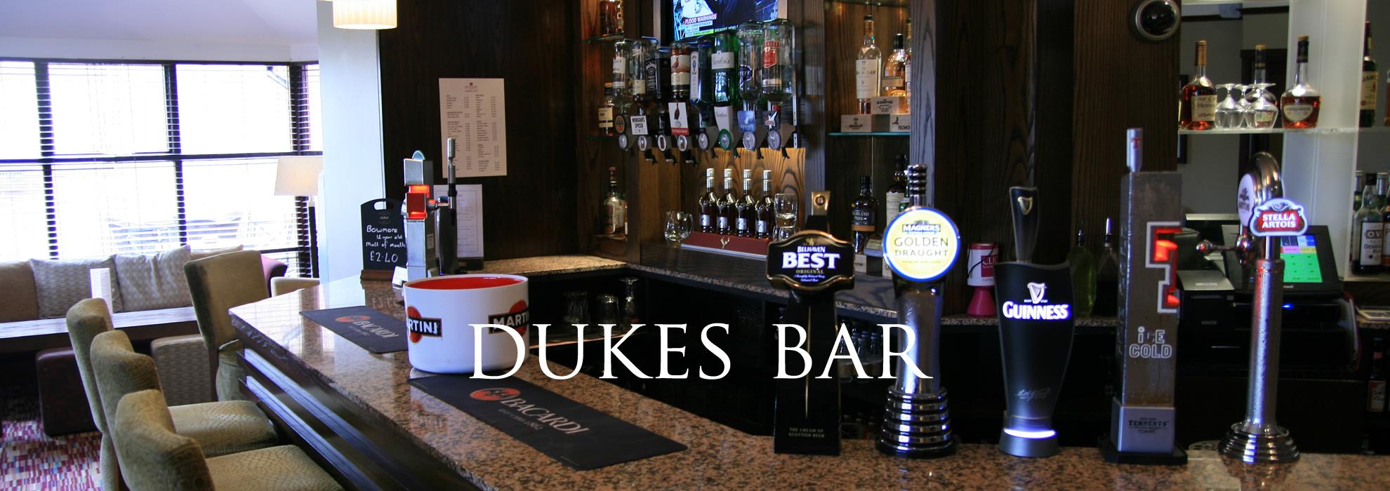 Dukes Bar Dean Park Hotel