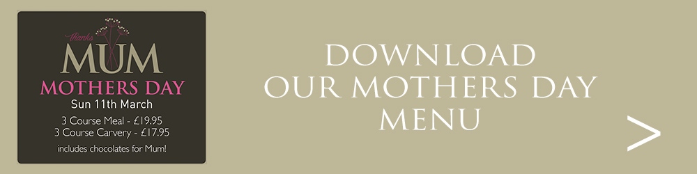 Download our Mothers Day Menu